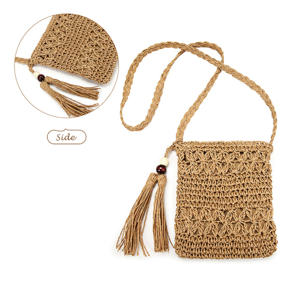 Hollow Weaving Crossbody Bag