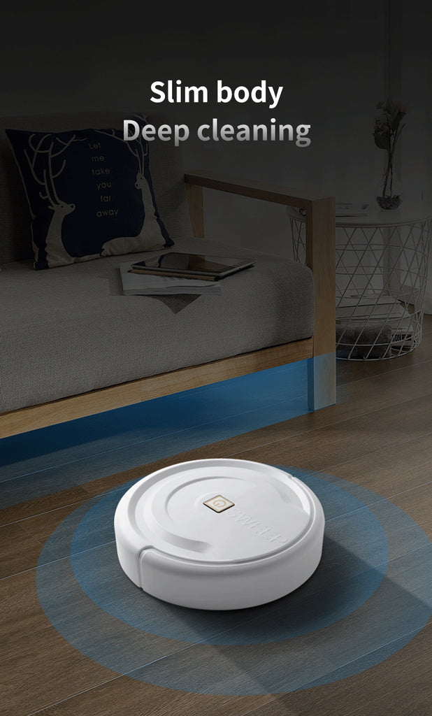 3 in 1 Auto-sensor Smart Robot Automatic Sweeper Vacuum Self-Navigated Edge Sweeper