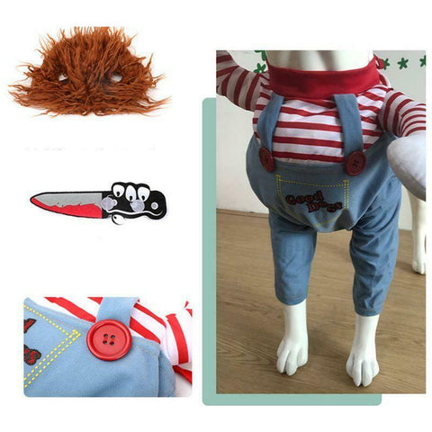 Pet Halloween Cat & Dog Clothes Creative Doll Transformation Costume