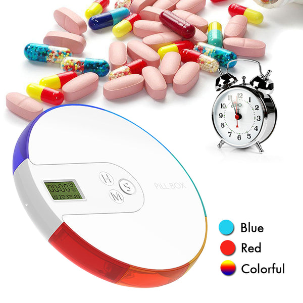 Portable Pill Case with Alarm