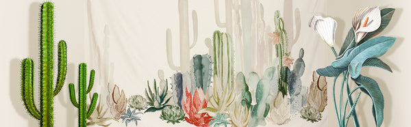 Cactus Decorative Tapestry