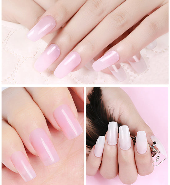 Painless Natural Nail Extension Poly Gel