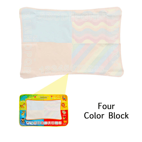 Aqua Painting Doodle Mat Set, No Need or Pigment, Parent-Child Toys Safe for Kids