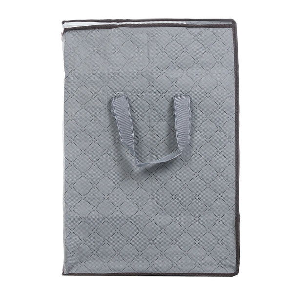 4 PCS Large Storage Bags for Clothes Comforters 90L, with Strengthen Handle, Viewing Window & Zipper