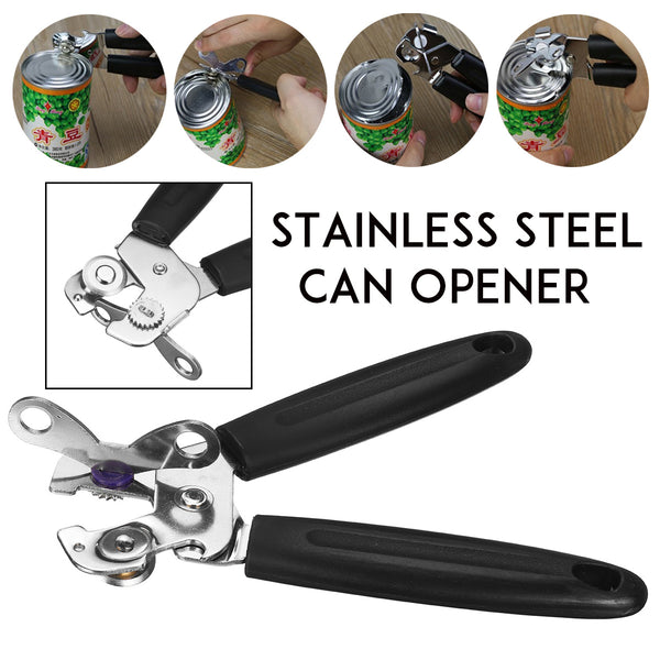 Stainless Steel Can Opener for Home & Outdoor Camping