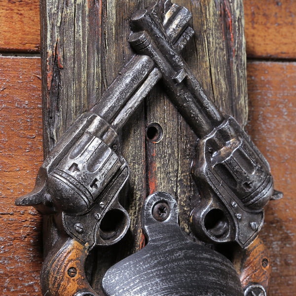 Vintage Cowboy Style Wall Mounted Bottle Opener for Bar/Home Decor