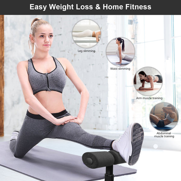 Portable Sit-ups Assistant Device Muscle Exercise Abdominal Equipment Workout for Home