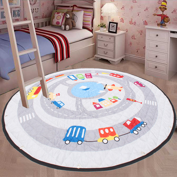 Kid's Portable Play Mat Blanket