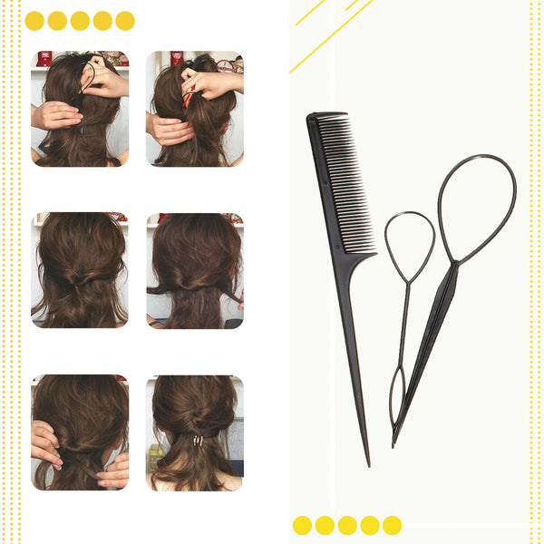 19PCS Hair Styling Tools