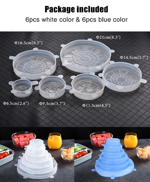 Silicone Food Protective Covers