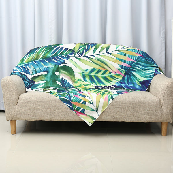 Tropical Plants Decorative Tapestry
