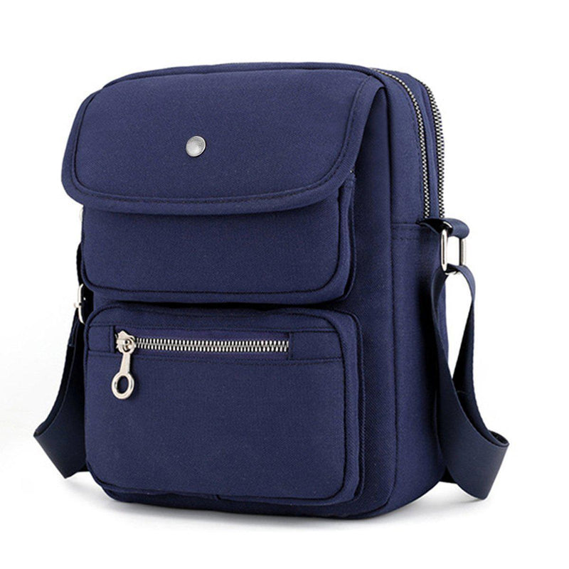 Multi-Pocketed Crossbody Bag-Luckyfine