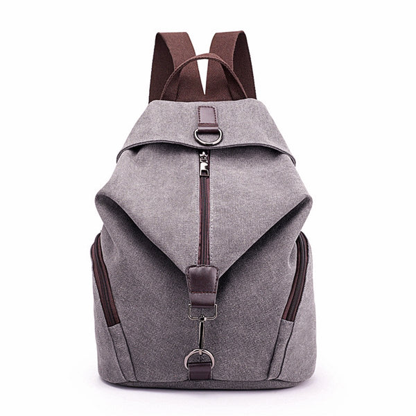 Ladies Large Capacity Canvas Bag-Luckyfine