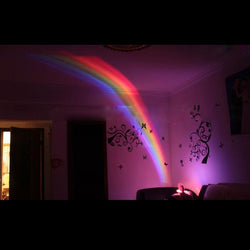 Rainbow LED Projector Lamp Romantic Creative Night Light-Luckyfine