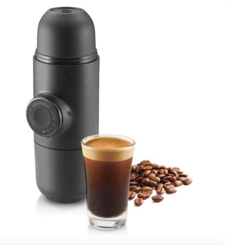 Portable Manual Coffee Maker Hand Espresso Maker Mini Coffee Machine Coffee Pot Outd Outdoor Travel