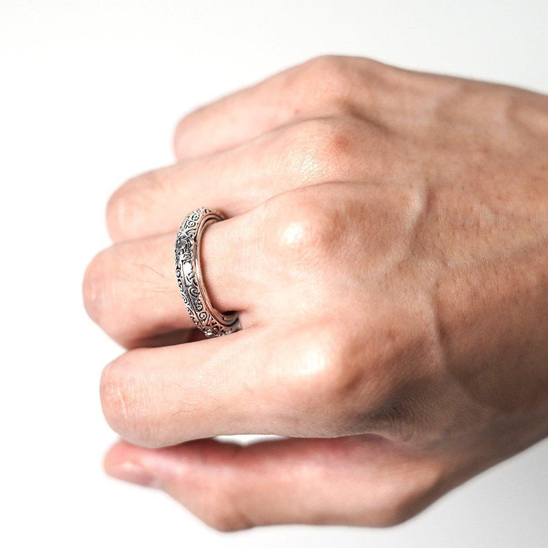Astronomical Finger Ring(Silver)-Luckyfine