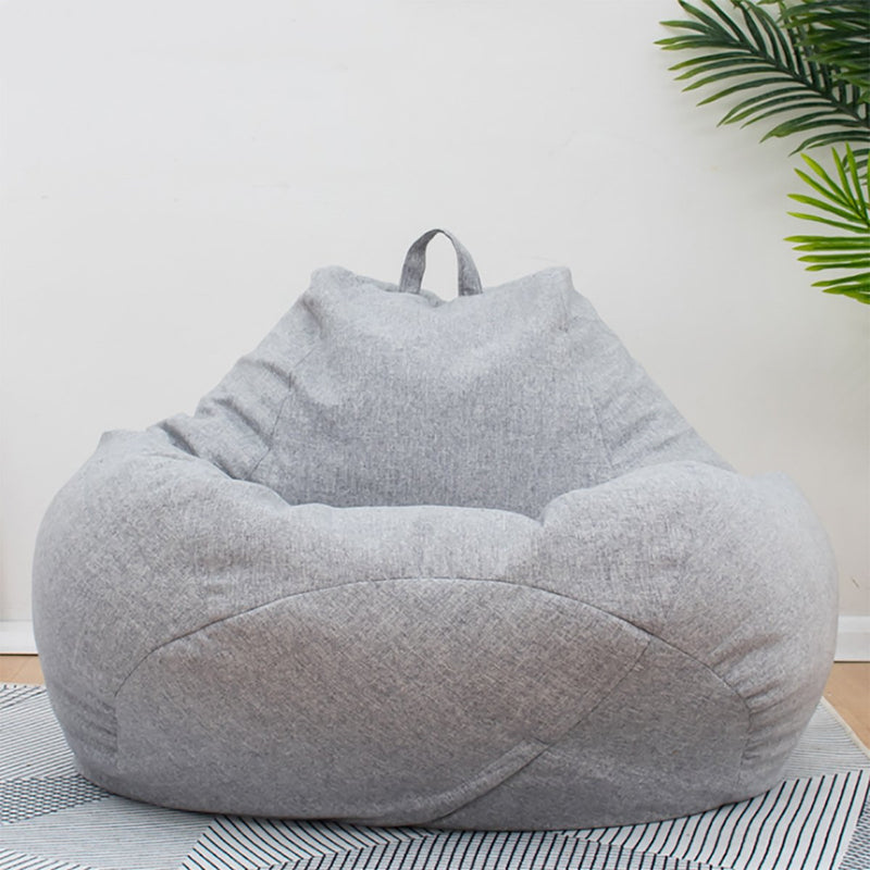 Extra Large Bean Bag Chair Cover Only Lazy Sofa Indoor Outdoor Game Seat Cover