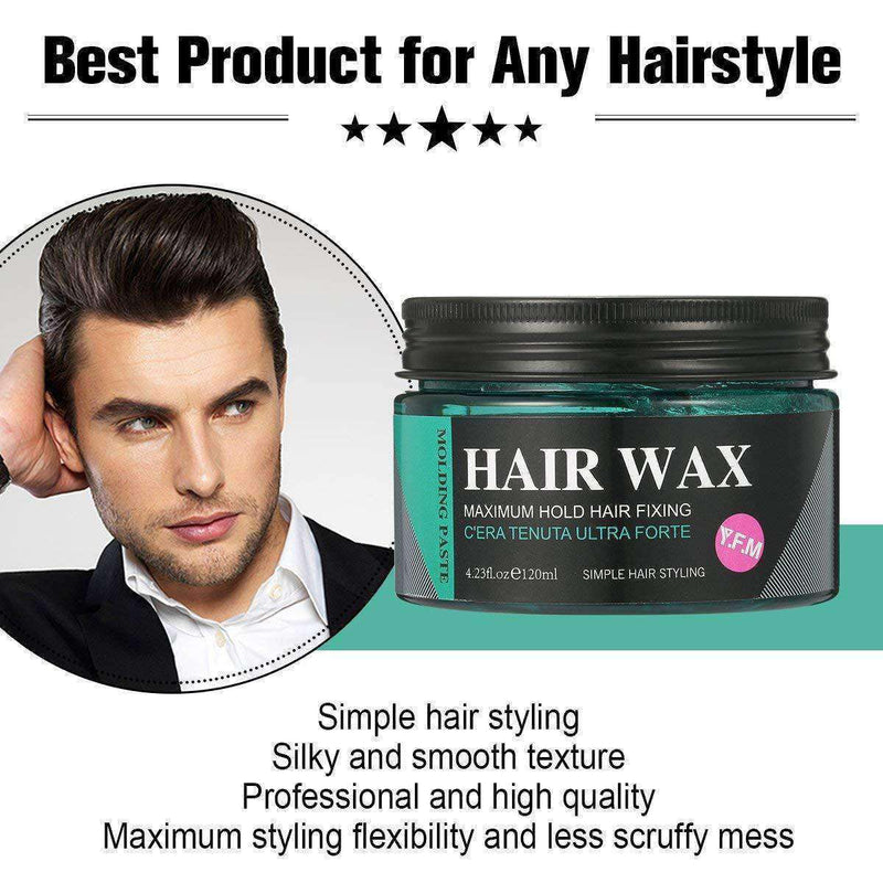 Strong Hold Hair Wax-2-Luckyfine