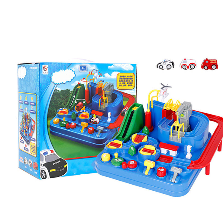 Educational Toys Car Parking Lot Vehicle Toys Airplane Track Parent-child Interactive Toys