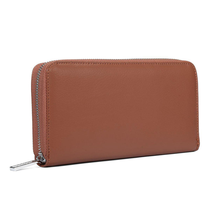 Embossed Leather 36 Card Slots Wallet-Luckyfine