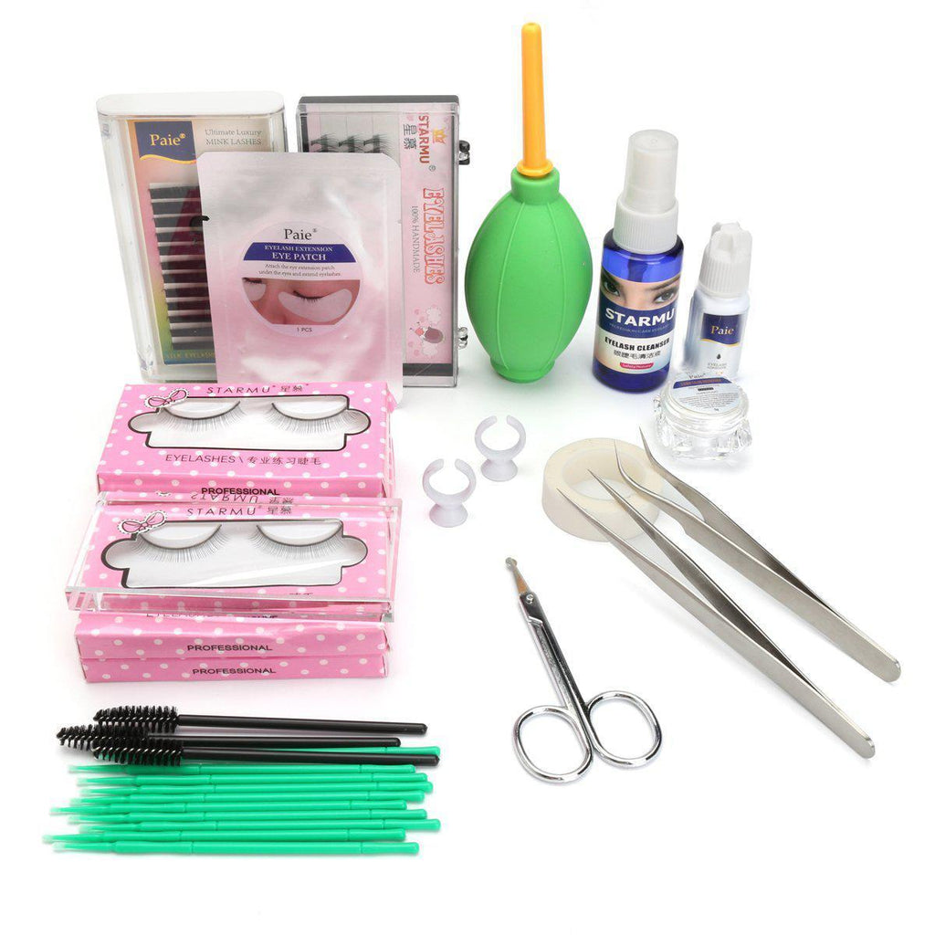 19PCS DIY Eyelash Extension Kit Set-Luckyfine