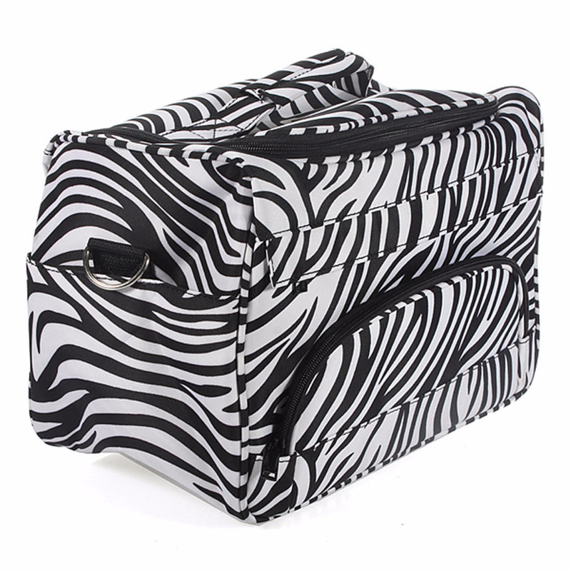 Luckyfine Professional Salon Hair Tools Hairdressing Bag, Large Capacity Multi-Pockets For Hand/Shoulder Carry