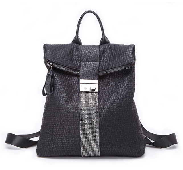 Women's Fashion Leather Backpack-Luckyfine