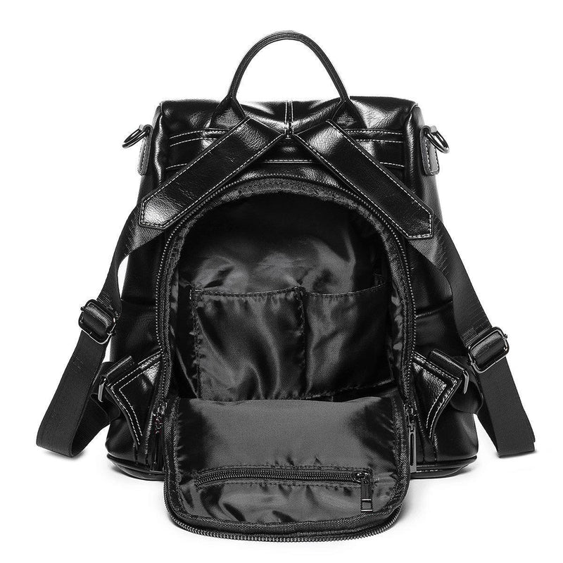 Waterproof PU backpack-Luckyfine