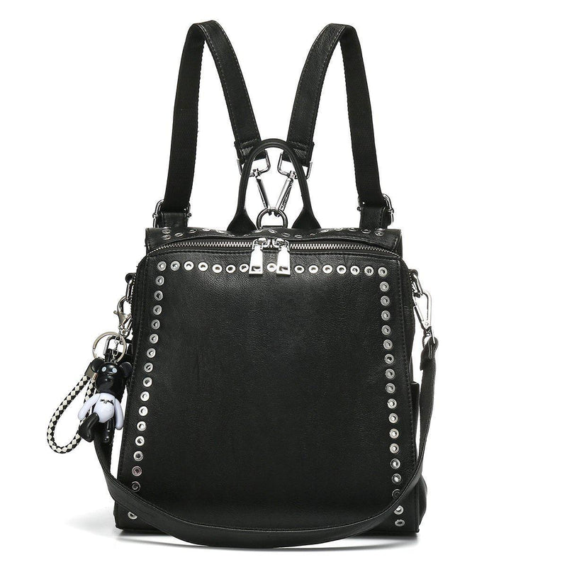 Women's Rivet Fashion Backpack-Luckyfine