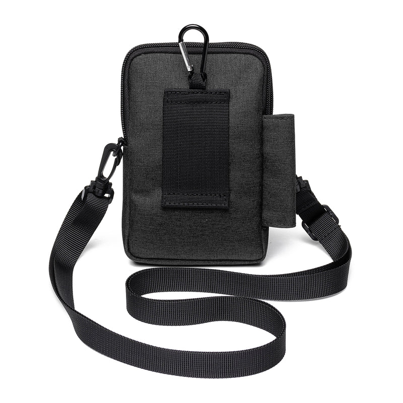 Multi-Function Small Wallet Lightweight Crossbody Bag Phone Bag Waist Bag for Men Women