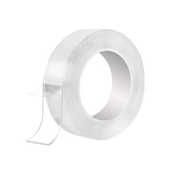 Reusable Washable Nano Adhesive Tape, Multipurpose Transparent Double Sided No-Trace Removable Glue Tape