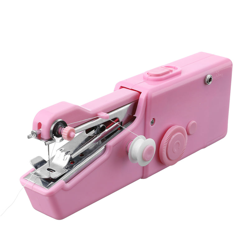 Hand-held Mini Sewing Machine, 31PCS Battery/USB Power for DIY Hand Stitching On-to-go Repair