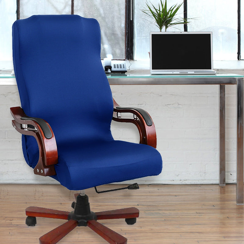 Office/Computer Chair Cover Universal High Back Chair Large Size Cover for Home/Office