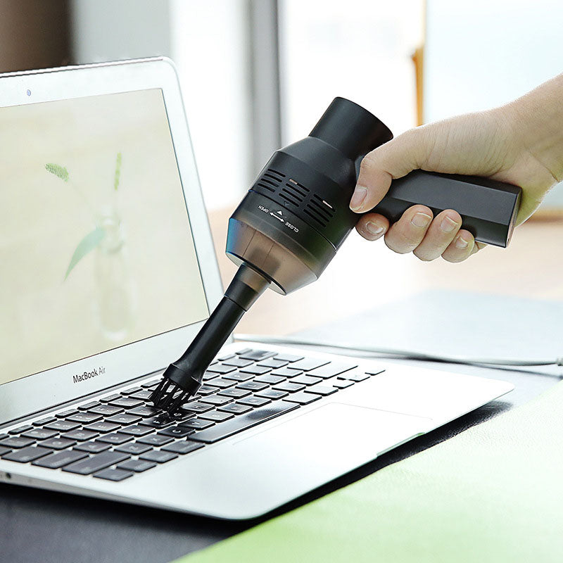 Portable USB Desk Vacuum Cleaner Household Handheld Mute Cordless Cleaning Dust Collector