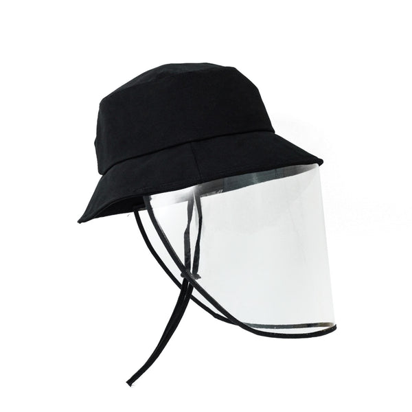 Detachable Face Shield Fisherman Hat Protective Cap Sunshade, with Drawstring, Full Face Cover