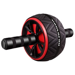 Ab Abdominal Mute Roller Exercise Wheel Core Fitness Muscle Trainer