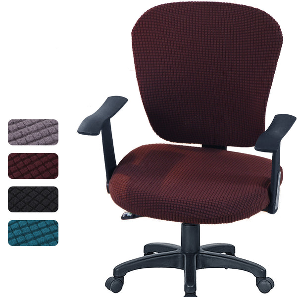 Office/Computer Stretchable Chair Universal Cover for Home/Office Stretch Rotating Chair Slipcovers