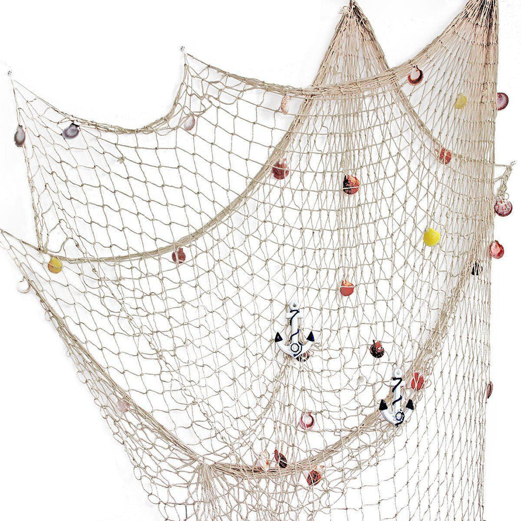 Mediterranean Style Decorative Fish Net-Luckyfine