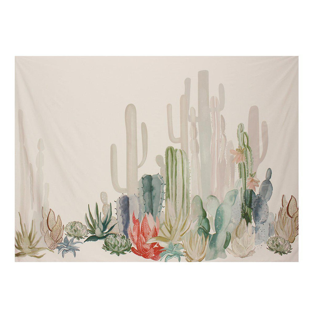 Cactus Decorative Tapestry-Luckyfine