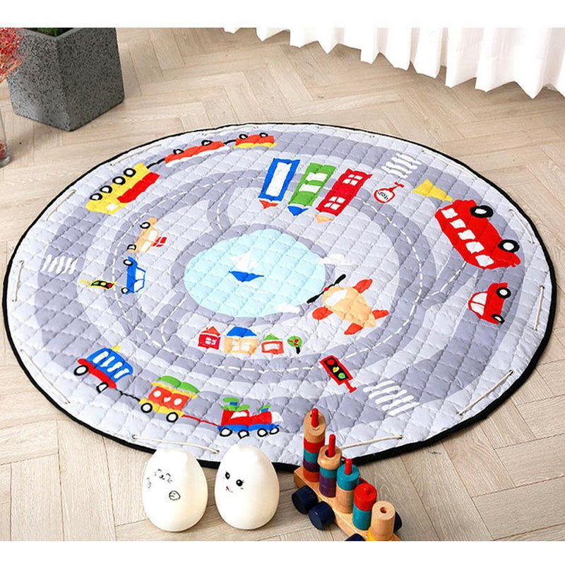 Baby's Portable Play Mat Blanket-Luckyfine