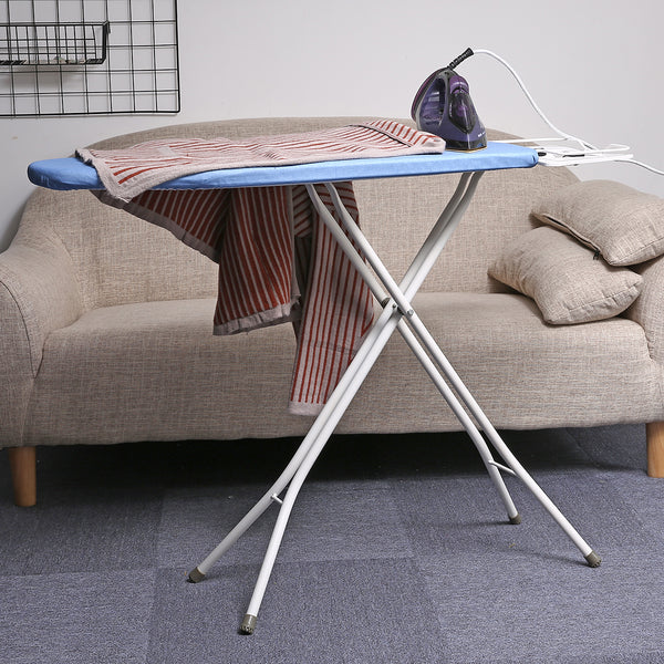 30''L x 13''W x 33''H Opensize 4-Leg Ironing Board, Adjustable Height, Anti-Slip & Scratch-resistant Feet