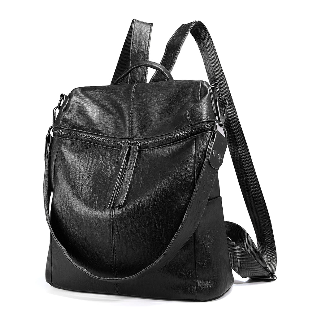 Soft PU Leather Backpack For Women-7