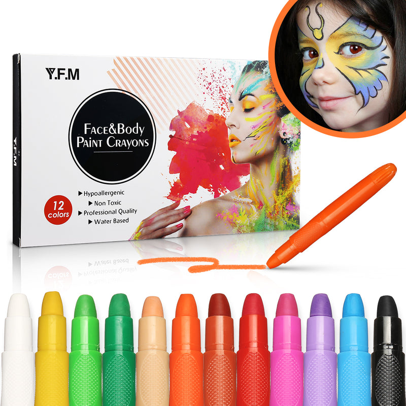 Paint Crayons Kit-8-Luckyfine