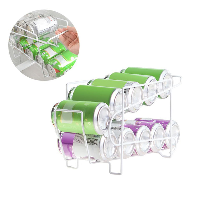 Beverage Can Dispenser Rack Organizer-Luckyfine