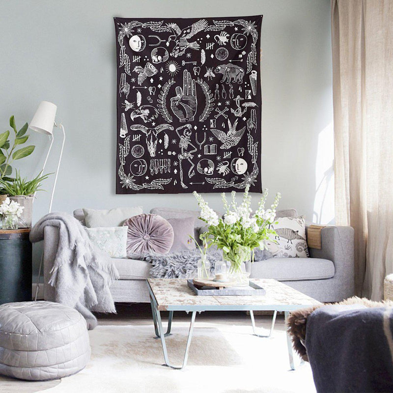 Boho-Chic Decorative Tapestry-Luckyfine