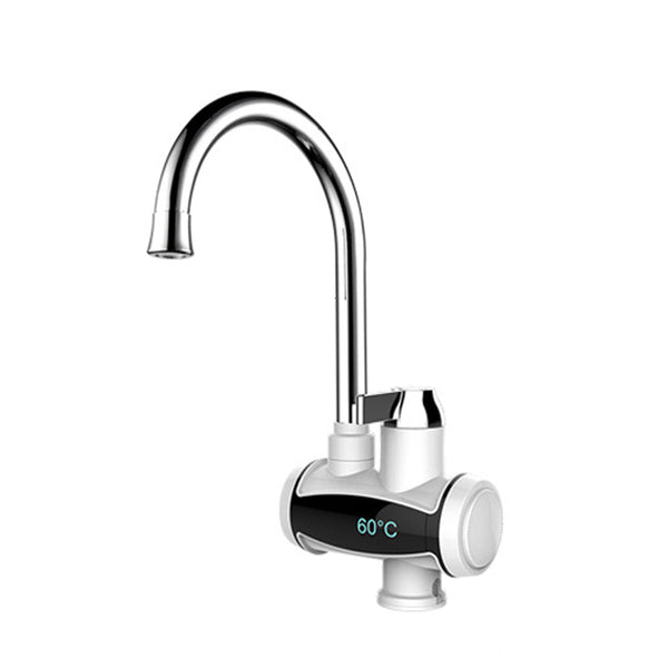 Electric Faucet Instant Hot Water Heater Tap Temperature Display Home 220V 3000W For Bathroom Kitchen