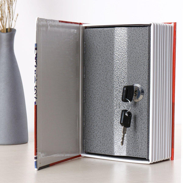 Chinese Style Home Security Book with Key Lock, Safe Box-Luckyfine
