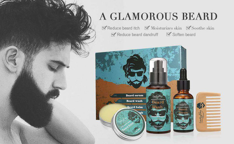 Beard Care Set-5-Luckyfine