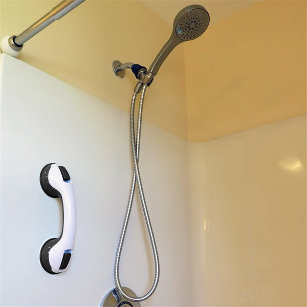 Bathroom Grab Bar Bathtub Removable Handle with Powerful Suction Grip for Bathroom Toilet Support Assist Balance