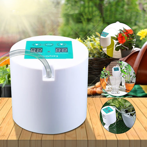 Automatic Irrigation Kit Automatic Drip Watering System w/ Electronic Timer 10m Tube, for Gardens Plant